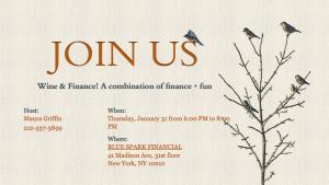 Winter 2013 Wine & Finance – Midlife Career Change