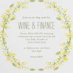 Wine & Finance Summer 2014
